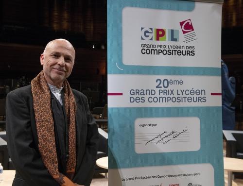 Grand Prix Lycéen des Compositeurs 2019Patrick Burgan obtient le Prix des Professeurs20e GPLC – 4 avril – Radio-France