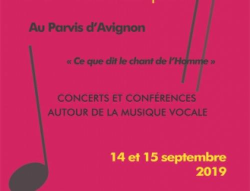 14-15 septembre 2019 – AvignonCompositeur en résidenceConférences, tables rondes, concerts2 créations mondiales